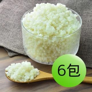 【鮮食家】GREENS 花椰菜米6包組(1000g/包)