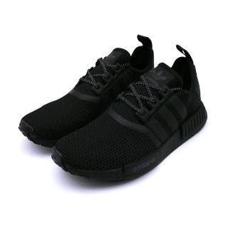 【adidas 愛迪達】ADIDAS NMD_R1 中 休閒鞋 黑(FV7969)