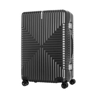 【Samsonite 新秀麗】25吋Intersect 高質感PC鋁框硬殼TSA行李箱 多色可選(GV5)