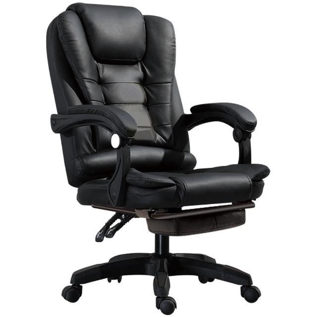 【RoLife簡約生活】歐風質感辦公室USB電動按摩沙發椅(四色任選