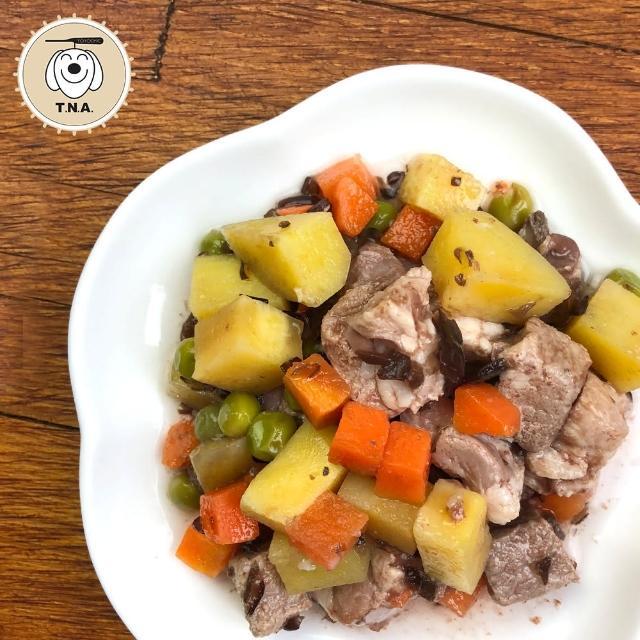 【T.N.A. 悠遊系列】餐包系列-全天然食材鮮食餐包/12入組(寵物鮮食 犬貓餐包)