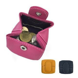 【玩皮工坊】真皮頭層牛皮大開口便攜迷你硬幣袋零錢包女夾LH678(3色可選)/
