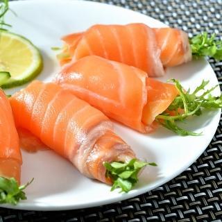 【鮮綠生活】智利頂級原料冷燻鮭魚切片(250g/包 共4包-凍)