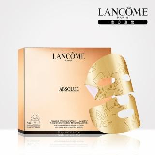【LANCOME 蘭蔻】絕對完美24K黃金玫瑰霜面膜(5片)