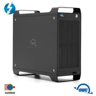 【OWC】ThunderBay Flex 8 + SoftRAID 5(8槽位儲存+ 8接口連結 + 1 PCIe擴展插槽)