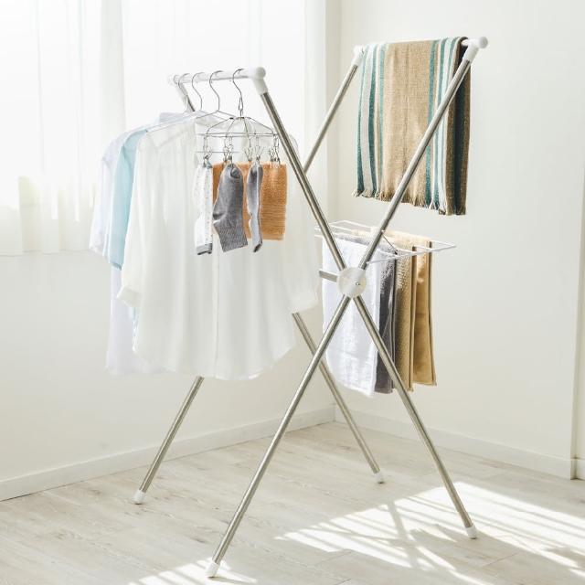 【IRIS】隨插即用便利曬衣架