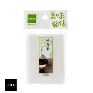 【HOLA】優的美味關係手提式沖茶袋36入/