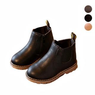 【橘魔法】仿皮好搭短靴(皮鞋 皮靴 Baby magic 兒童 童鞋 深色皮鞋 畢業典禮 表演 成果發表)