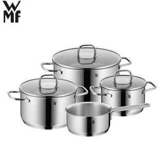 【德國WMF】INSPIRATION湯鍋4鍋7件組(16cm/20cm/24cm湯鍋含蓋 16cm單手鍋)