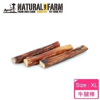 【Natural Farm 自然牧場】紐西蘭天然牛腱棒XL(點心 零食 潔牙 挑嘴)