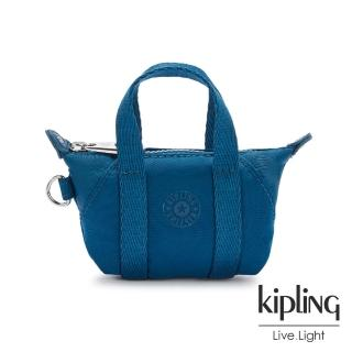 【KIPLING】神秘群青藍迷你包款吊飾-MINI ART