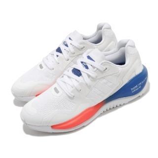 【adidas 愛迪達】休閒鞋 ZX Alkyne 低筒 男鞋 愛迪達 三葉草 緩震 球鞋穿搭 白 紅 藍(FV2315)
