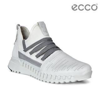 【ecco】ZIPFLEX W 酷飛運動透氣運動休閒鞋 女鞋(白色 80374301007)