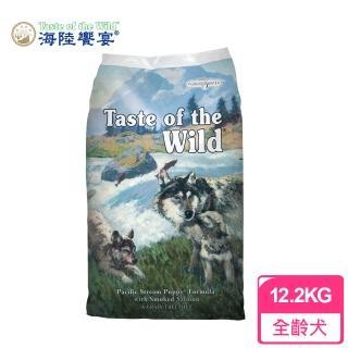 【Taste of the Wild 海陸饗宴】太平洋燻鮭幼犬 愛犬專用 12.2Kg(幼犬無穀飼料)