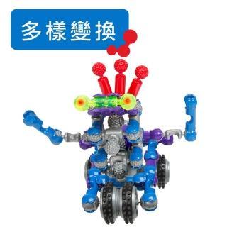 【美國ZOOB】骨頭積木-外星機器人