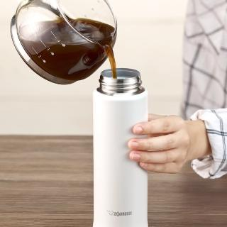 【象印_買1送1】OneTouch彈蓋不鏽鋼保溫杯480ml(SM-KC48EMM*2)