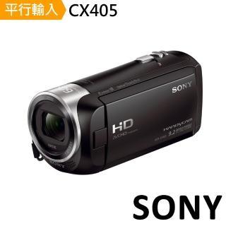【SONY 索尼】CX405 數位攝影機(中文平輸)