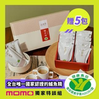 【品純萃】鱸魚精60mX20包*買就贈5包*(1組共25包)/