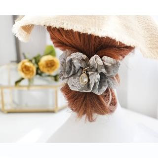 【UNICO】巴黎清新渲染奧賽博物館靈感之髮圈/髮飾-浪漫灰(髮飾)