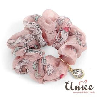 【UNICO】巴黎清新渲染奧賽博物館靈感之髮圈/髮飾-油畫花(髮飾)