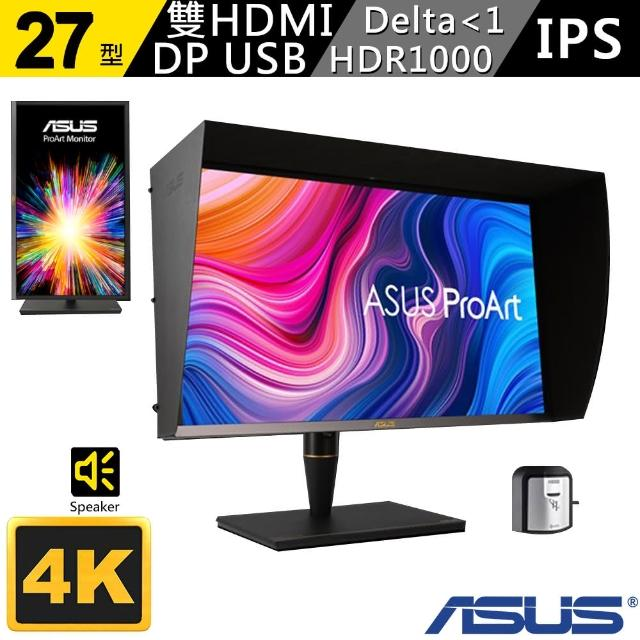 【ASUS 華碩】ProArt PA27UCX 4K HDR mini LED 27吋 專業螢幕