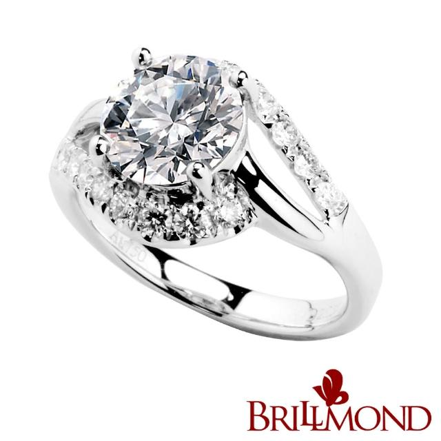 【BRILLMOND JEWELRY】擁抱真情GIA 1克拉鑽戒(GIA D/VS2 3EX NONE)