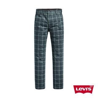 【LEVIS】男款 英倫格紋休閒褲 / 滑板系列-人氣新品