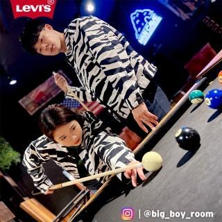 【LEVIS】男款 雙面穿燈心絨外套 / 滑板系列 / 潮流斑馬紋-人氣新品