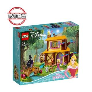 【LEGO 樂高】迪士尼公主系列 奧蘿拉的森林小屋 43188 公主 迪士尼(43188)