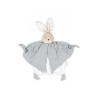 【KALOO】Kaloo Organic 有機棉兔兔安撫巾(丁香灰)