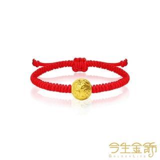 【今生金飾】錢滿滿小珠(黃金串珠手繩)/