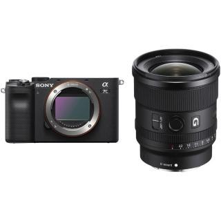 【SONY 索尼】A7c+FE 20mm F1.8 G 廣角風景組(公司貨)