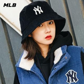 【MLB】燈蕊絨漁夫帽
