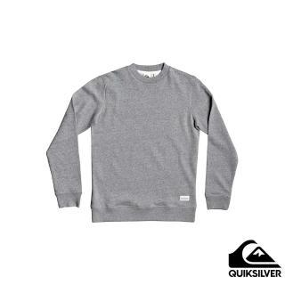 【Quiksilver】男款 男裝 上衣 長袖T恤 ESSENTIALS CREW(灰色)