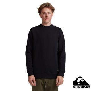 【Quiksilver】男款 男裝 上衣 長袖T恤 ESSENTIALS CREW(黑色)