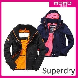 【Superdry】極度乾燥獨家男女風衣連帽夾克/防潑水/衝鋒風衣外套(多款可選)/