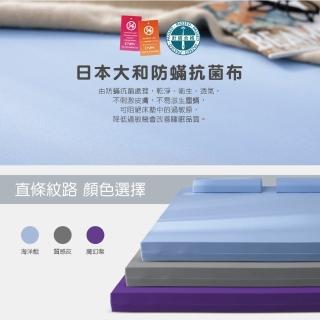 【House Door 好適家居】年度限量款-日本大和抗菌表布12cm記憶床墊(雙人5尺)-618限定防疫好眠