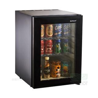 Dellware鋼化玻璃門吸收式無聲客房冰箱 XC-40RT新款(超靜音運行)