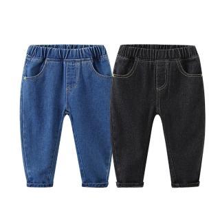【Baby 童衣】男女童牛仔褲 秋冬長褲 兒童長褲 88575(共2色)