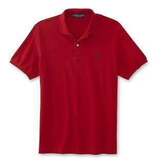 【US POLO】2020男時尚小馬標誌紅色寬鬆短袖POLO-XL-網