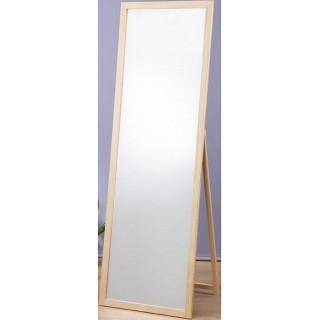 【鏡王之王】高160實木立鏡 全身鏡 穿衣鏡 壁鏡 掛鏡 加掛環可當掛鏡(MR1652-原木色)