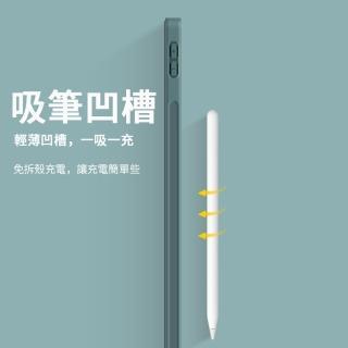 【ANTIAN】iPad Air 4 10.9吋 2020版 智慧休眠喚醒平板皮套 內置筆槽 散熱支架保護套(全包保護殼)