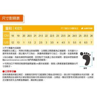 【LOTTO】運動鞋 兒童鞋  EASY RIDE 輕量跑鞋(黑藍-LT0AKR1796)