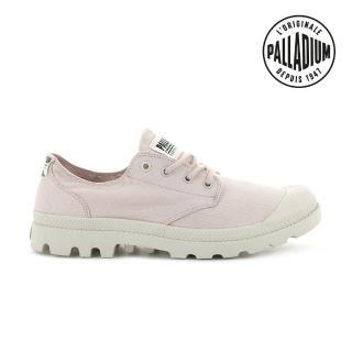 【Palladium】PAMPA OX ORGANIC有機低筒鞋-中性-淡粉(76643-692)