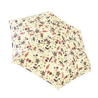 【rainstory】變形昆蟲-米抗UV手開輕細口紅傘/