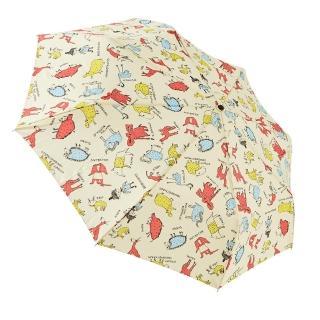 【rainstory】幻想動物園-米抗UV個人自動傘/