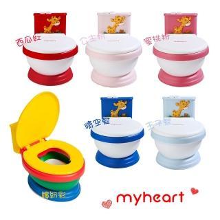 【myheart】專利兒童音樂馬桶 6色可選(myheart)
