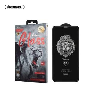 【Remax】iPhone12/iPhone12 Pro 6.1吋 帝王系列9D鋼化膜 全膠黑邊滿版(高透顯示原畫質)