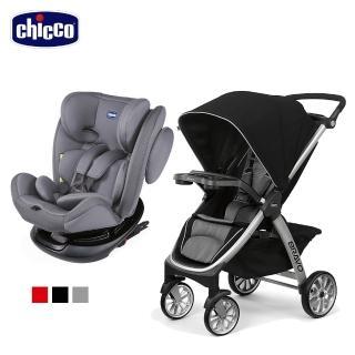 【Chicco】Unico 0123 Isofit安全汽座+Bravo極致完美手推車Air版