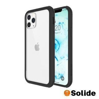 【SOLiDE】維納斯 iPhone 12 Pro Max 軍規抗菌防摔手機殼-極致黑(99%抗菌軍規防摔)